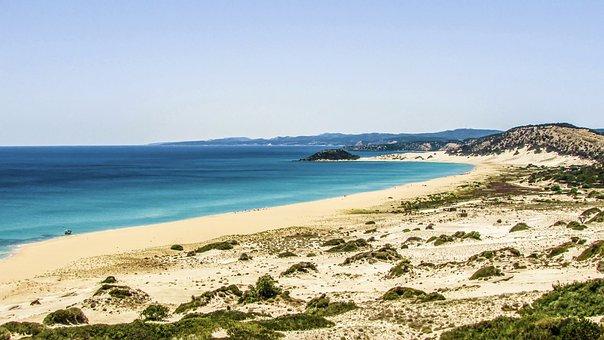 Cyprus, Karpasia, Golden Beach, Blue, Coast, Scenic