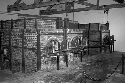 Konzentrationslager, Dachau, Kz, Crematorium, Oven