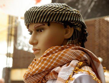 Yemen, Turban, Man, Scarf, Manekin, Mode, Display