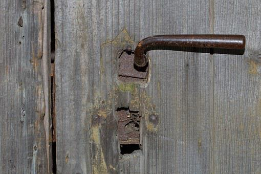 Door, Castle, Door Handle, Old, Old Door, Wood
