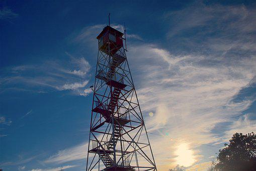 Fire Tower, Appalachian Trail, Climb, Fire, Hike