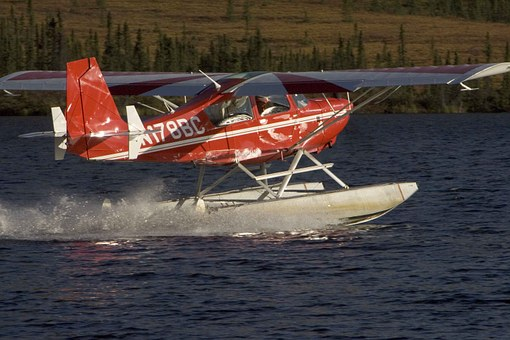Floatplane, Plane, Float, Water, Aircrafts, Aeroplanes