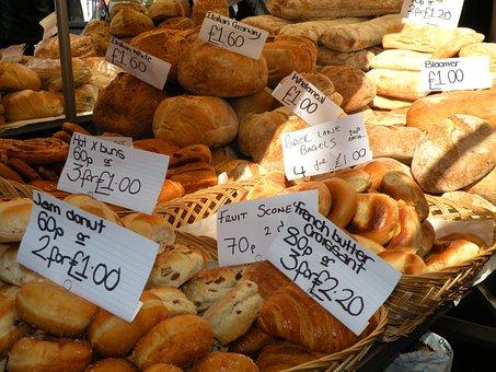 Bread, Food, Market, Price, London, Portobello