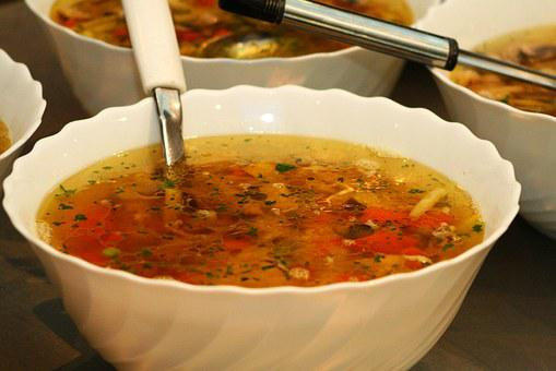 Food, Soup, Ladle, Bowl, Dinner, Soups, Cooking-cooking