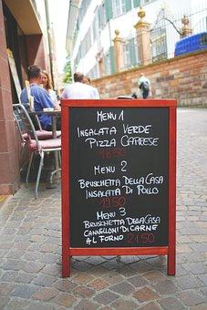 Menu, Board, Menutafel, Restaurant, Cafe, Gastronomy
