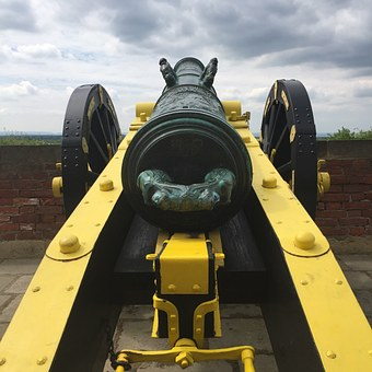 Gun, Castle, Fortress Doncaster, Historically, Weapon