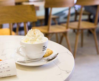 Cappuccino, Coffee, Coffee House, House, Cafe