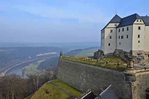 Fortress Doncaster, Saxony, Castle, Knight's Castle