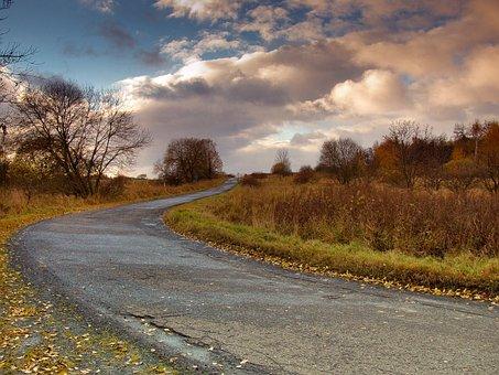 Path, Spring, Nature, Landscape, Sky, Spring Landscape