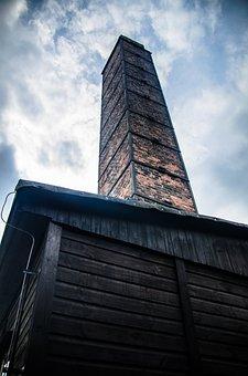 Crematorium, Holocaust, Majdanek, Chimney