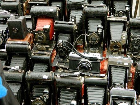 Cameras, Texture, Photography, Market, Lenses