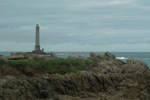 Normandy, Lighthouse, Navigation, Semaphore