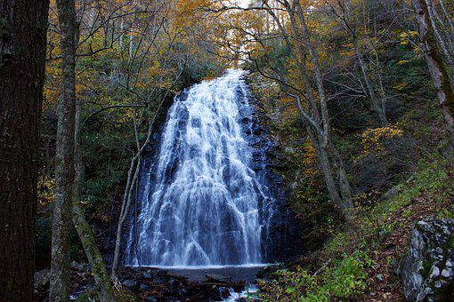 Crabtree Falls, Blue Ridge Mountains, North Carolina