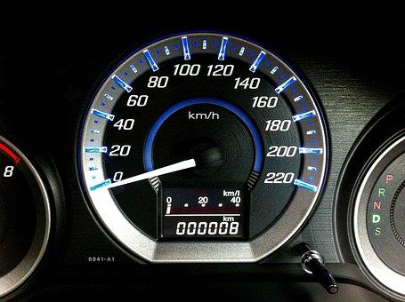 Meter, The Speedometer, 6 800 Miles, Pat Car Page