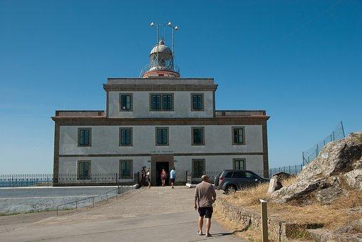 Spain, Cape Finisterre, Lighthouse, Semaphore