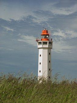 Lighthouse, Navigation, Semaphore, Marin