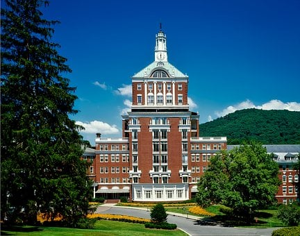 Homestead Resort, Hot Springs, Virginia, Hotel, Spa