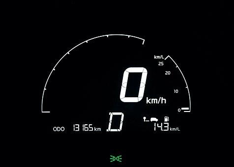 Speedometer, The Instrument Panel, Dash Board Lights