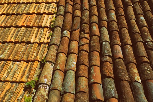 Tiles, Roof, Slate, Clay, Terracotta, Roofing, Texture
