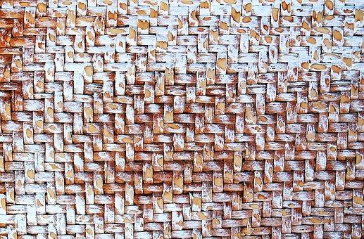 Texture, Raffia, Trunk, Crafts, Textures, Background