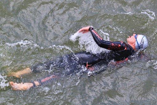 Swimmer, Triathlon, Swim, Athletes, Water Sports