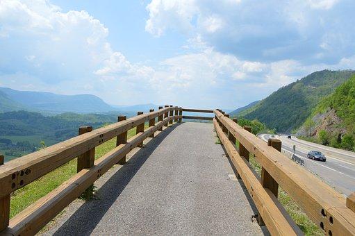 Mountains, Virginia, Green Fields, Landscape, Nature