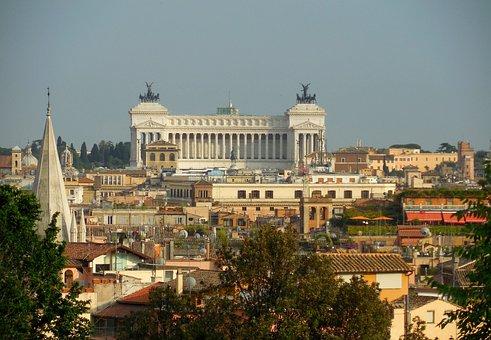 Rome, Vittorio Emmanuele, Panorama