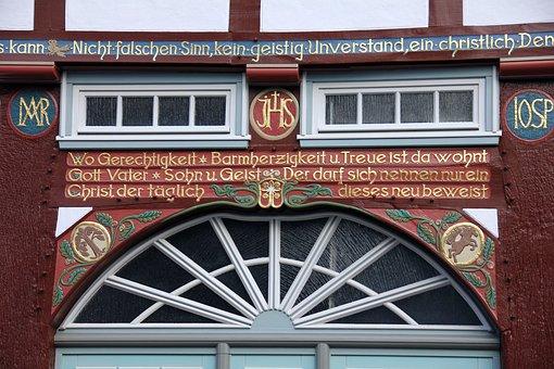 Building, Home, Truss, Specialist, Fachwerkhaus, Window