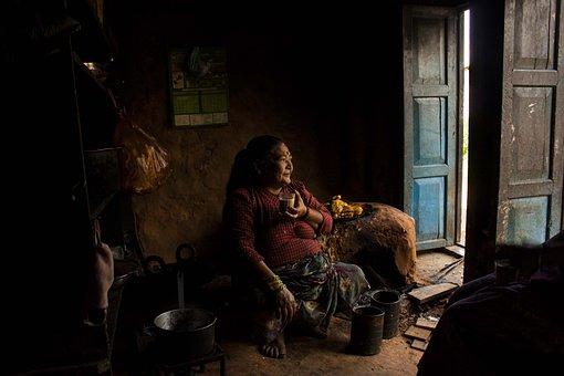 Village Shop, Tea, Drink, Food, Drinking, Women