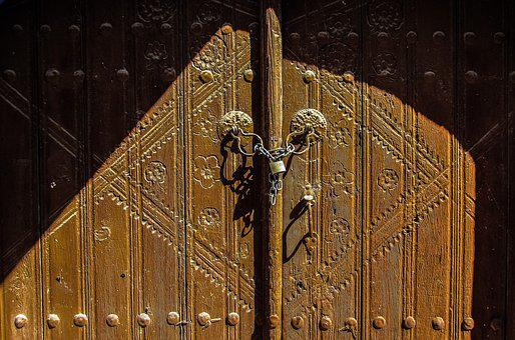 Door, Wooden, House, Decoration, Traditional