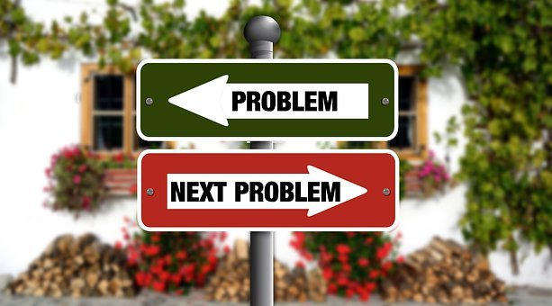 Problem, Arrow, Direction, Traffic Sign, Solution