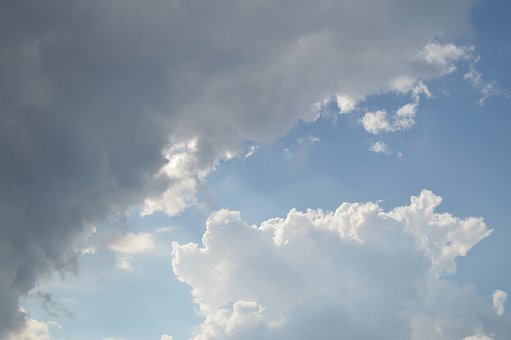 Clouds, Sky, Cloudscape, Cloudy Sky, Atmosphere, Fluffy