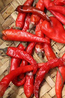Chilly, Chili, Chilli, Food, Spicy, Red, Cooking, Spice