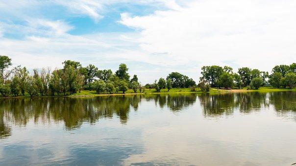 River, Water, Elbe River, Nature, Scenery, Scenic