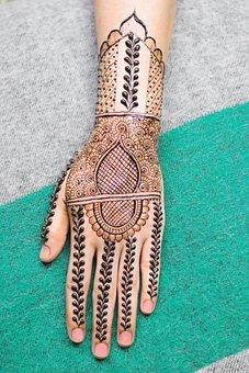 Tattoo, Henna, Art, Beauty, Hand, Design, Fashion