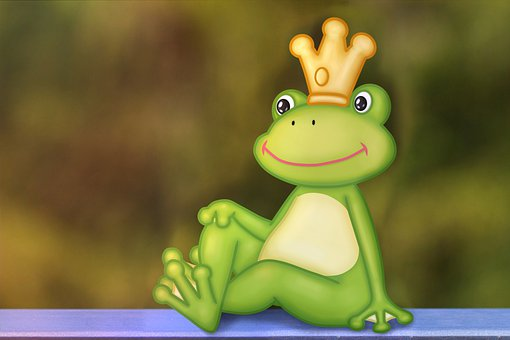 Frog, Frog Prince, Green, Animals, Funny, Fairy Tales