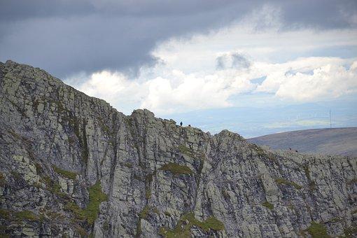 Ridge, Climb, Hike, Trek, Walk, Sky, Adventure