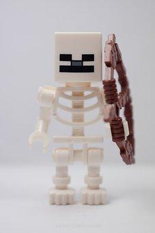 Lego, Mini, Minecraft, Character, Toy, Pads, Blocks