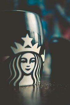 Starbucks, Logo, Coffee, Cup, Drink, Beverage, Espresso