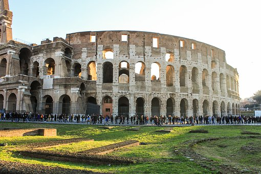 Colosseum, Museum, Monument, Architecture, Rome, Italy