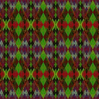 Rhomboid, Mosaic, Rhombus, Shapes, Pattern, Seamless