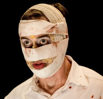 Man, Male, Actor, Performance, Horror, Mask, Person