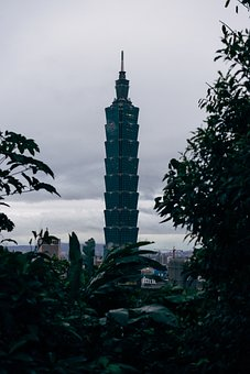 Taipei 101, Skyscraper, Taipei, Tower, Architecture