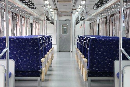 Railway, Transportation, Train, Vehicle, Seats