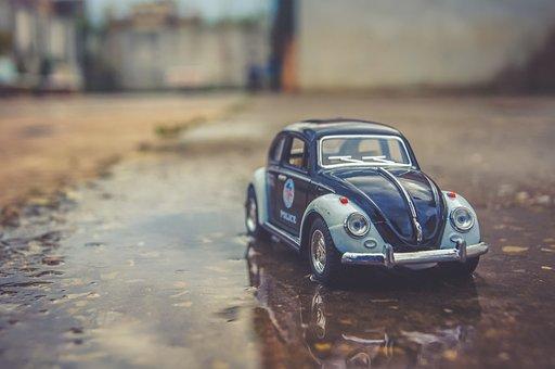 Toy, Miniature, Car, Volkswagen, Volkswagen Beetle