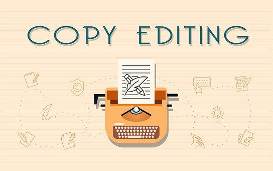 Copy Editing, Copy Editor, Copy Edit, Copywrite