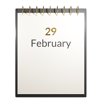 Leap Day, February 29, Day, Year