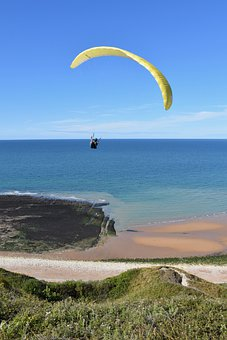 Paragliding, Paraglider, Parachute, Flight, Fly, Flying