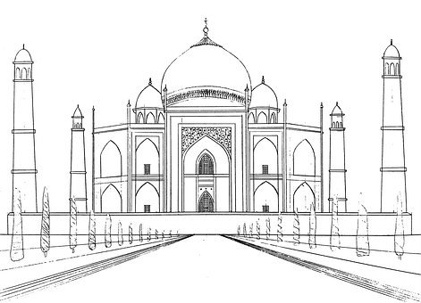 Taj Mahal, Mosque, Palace, Marble, Monument, Building
