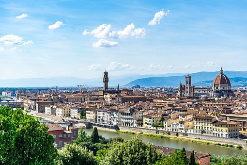 Florence, Italy, Panorama, City, Tuscany, Cathedral